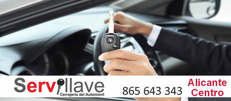llave coche copia autocerrajeros Alicante Centro