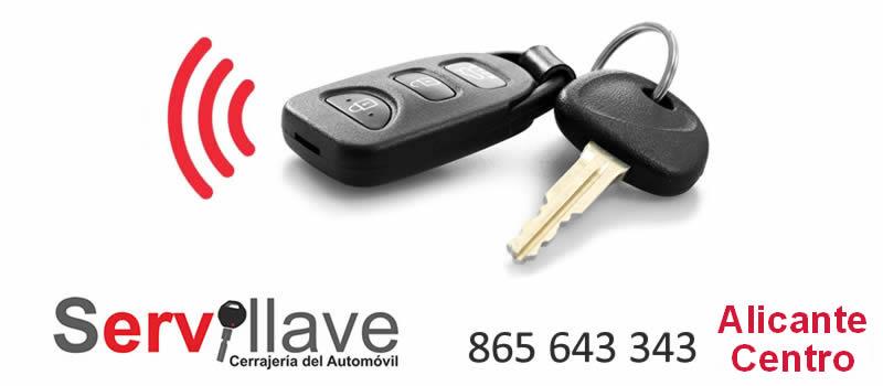 chip mandos de coche codificado autocerrajeros Alicante Centro