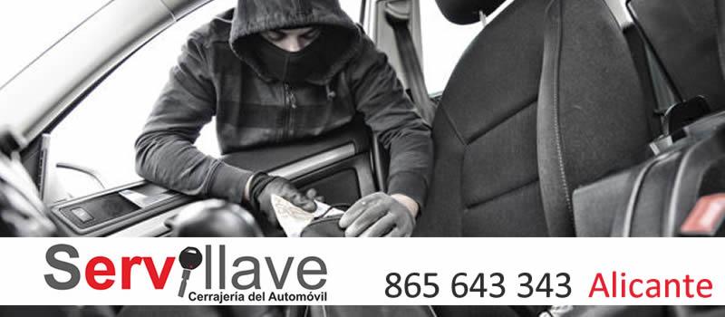 robo de coches alicante servillave informa