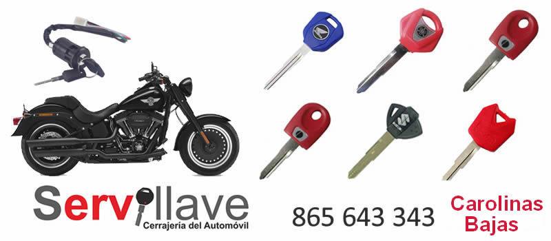 perdida llaves de motos autocerrajeros carolinas bajas