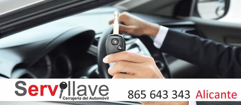 Copias de llaves de coche Autocerrajeros Alicante