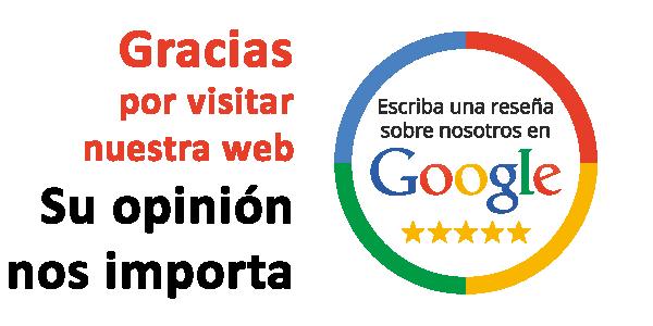 reseña en google maps